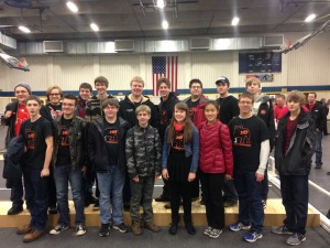 CHS Robotics Team - Game Kick-Off 2015